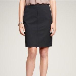 Gap Stretch Pinstripe Pencil Skirt